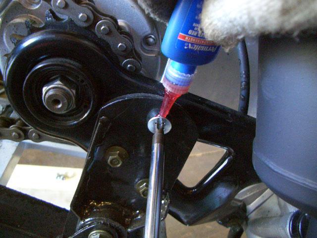 縫付けボルト取替、四輪バギー/ トライク